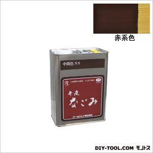 弁慶なごみ ベンガラ塗料 赤系色 4L (NR-04)