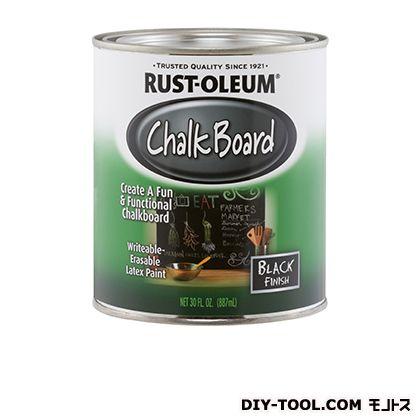 チョークボード(黒板になる塗料)ハケ塗りタイプ ブラック  880R027
