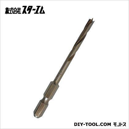 竹だけじゃない!多種材対応の 竹用ドリル  4mm  601-040