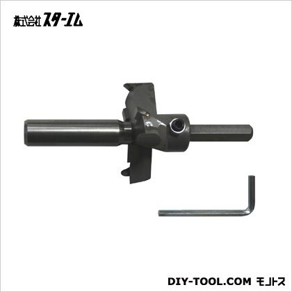 超硬座掘錐 大口径 ドリルなし 18×70mm (28L-1870)
