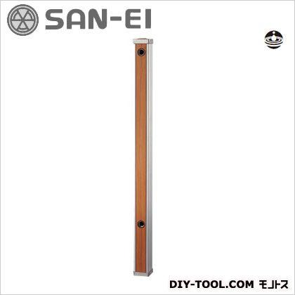 木目調水栓柱 全面木目調ブラウン  T803-60X900-BR