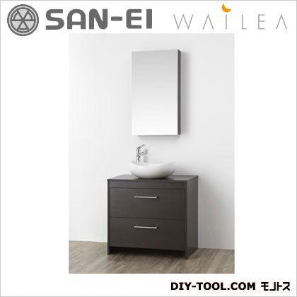 【送料無料】三栄水栓 洗面化粧台   WF014S-750-DB-T3  洗面器洗面