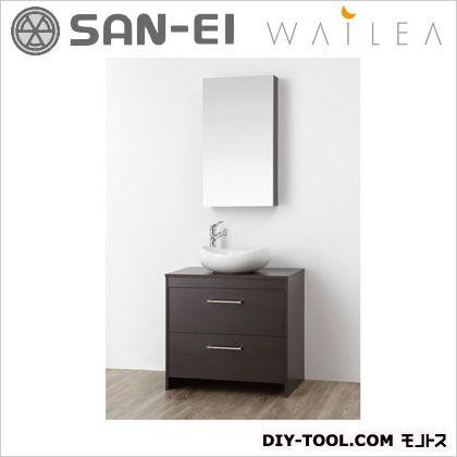 【送料無料】三栄水栓 洗面化粧台   WF015S-750-DB-T4  洗面器洗面