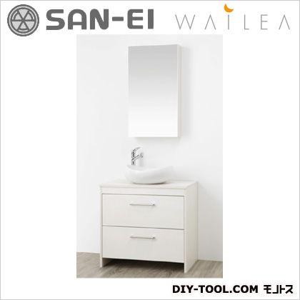 【送料無料】三栄水栓 洗面化粧台   WF015S-750-IV-T3  洗面器洗面