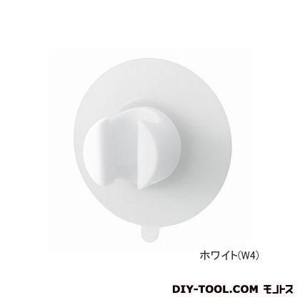 エーキューブ basupo(バスルームグッズ) シャワーホルダー ホワイト (PS30-352-W4)
