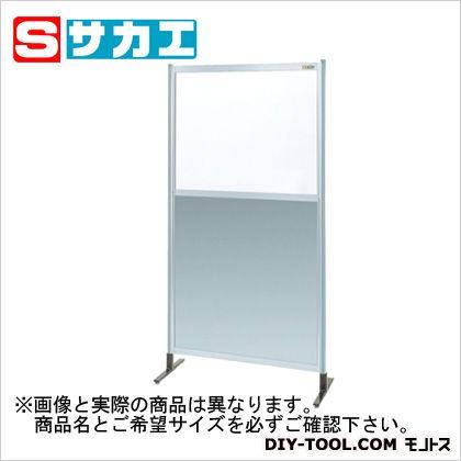 パーティション 透明塩ビ(上) アルミ板(下)タイプ(単体)   NAE46NT