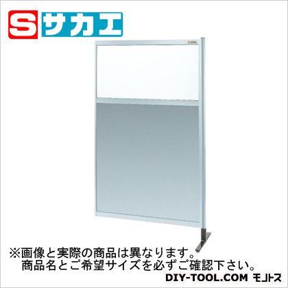パーティション 透明塩ビ(上) アルミ板(下)タイプ(連結)   NAE55NR