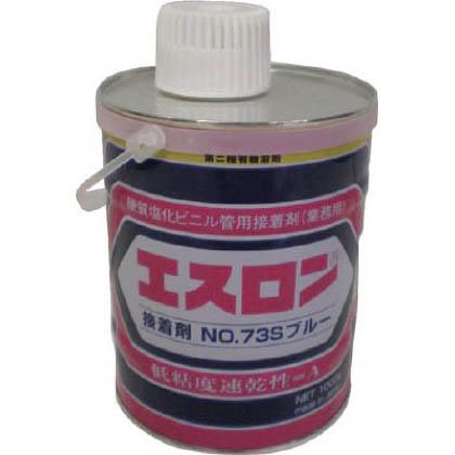 エスロン 接着剤 No.37S ブルー 1kg S731B 1 個