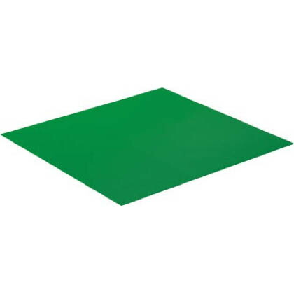 プラベニソフト両面NSシート グリーン 1.6mm×1000mm×1m (J5M3698) 1枚