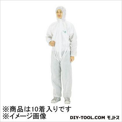 使い捨て化学防護服(10着入り)XL   MG1500-XL 10 着