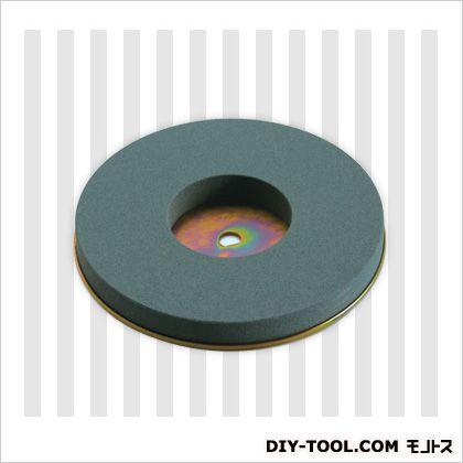 刃物研磨機用替砥石(鉄板接着済) 荒研ぎ用 (GC#150)   GC#150
