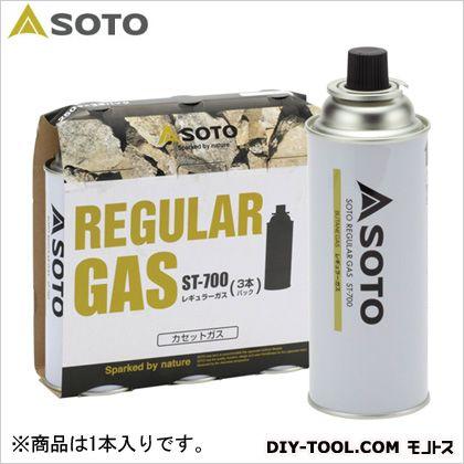 レギュラーガス(1本)  直径69×高さ195mm(ボンベ1本) ST-700 1  本