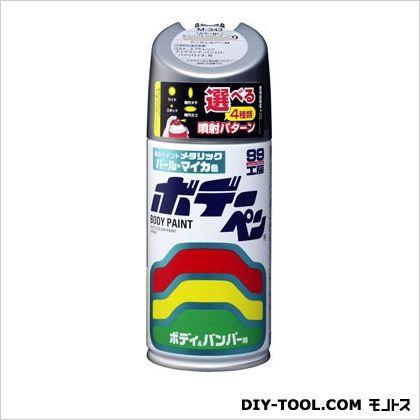 ソフト99 ボデーペン(メタリック・マイカ) 純正カラーNo.KX4 チタニウムシルバーM  N-278
