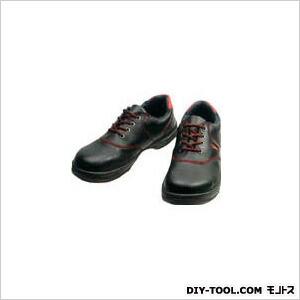 シモン 安全靴 短靴 黒/赤  23.5cm (SL11R23.5) 樹脂先芯安全靴 安全靴