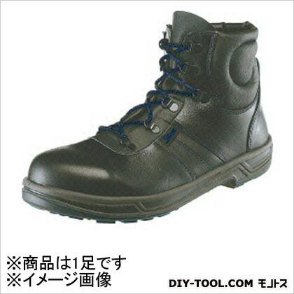 シモン 安全靴 編上靴 8522 黒 27.0cm 852227.0   樹脂先芯安全靴 安全靴