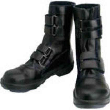 安全靴 マジック式 8538 黒 25.5cm 8538N25.5