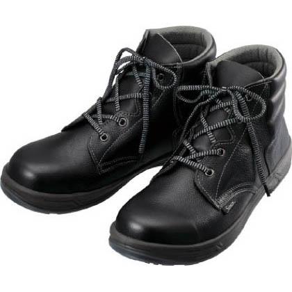 シモン 安全靴 編上靴 黒 23.5cm SS2223.5