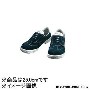 安全靴短靴マジック式SS18BV25.0cm   SS18BV-25.0
