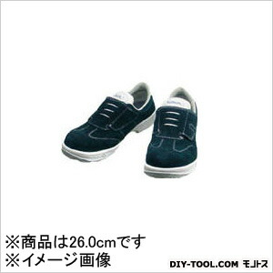 シモン 安全靴 短靴マジック式  26.0cm SS18BV26.0   当革・マジックバンド安全靴 安全靴