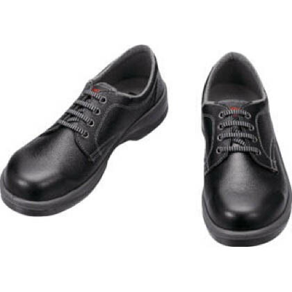 シモン 安全靴 短靴 黒 23.5cm (7511B23.5) 樹脂先芯安全靴 安全靴