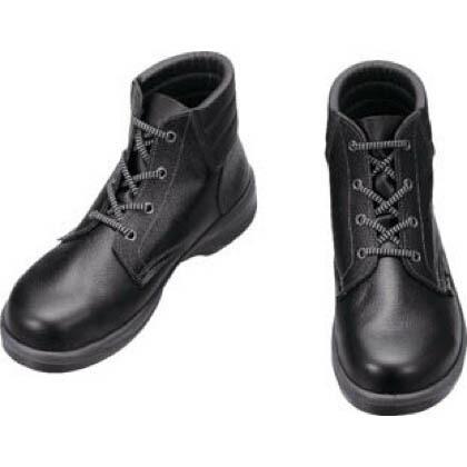 シモン 安全靴 編上靴 7522 黒 23.5cm 7522N23.5