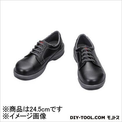 シモン 安全靴 短靴 黒 24.5cm 7511B24.5   樹脂先芯安全靴 安全靴