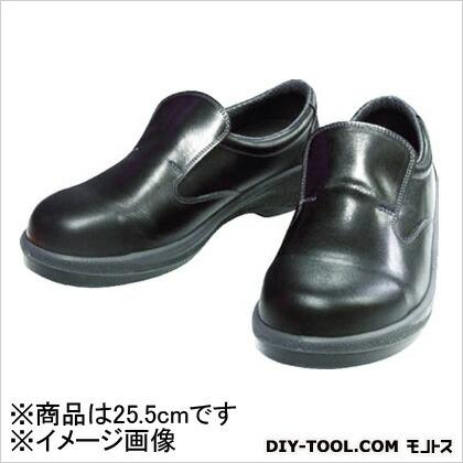 安全靴短靴7517黒25.5cm   7517-25.5
