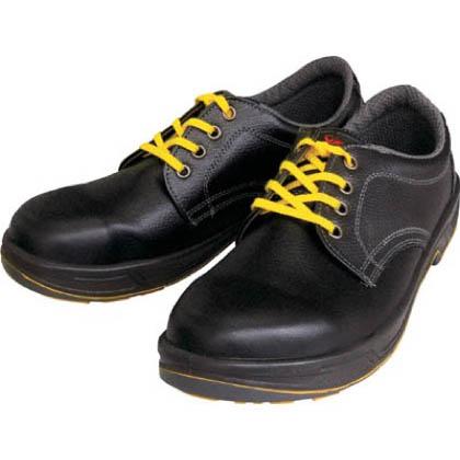シモン 静電安全靴 短靴 静電 黒 24.0cm SS11BKS24.0   ウレタン底安全靴 安全靴