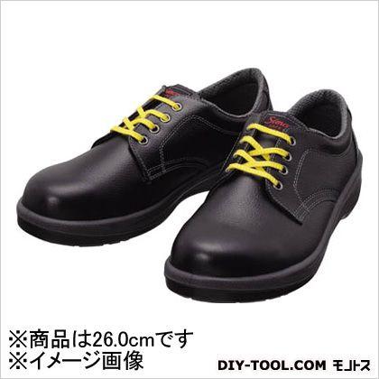 シモン 静電安全靴 短靴 静電 黒 26.0cm (7511BKS26.0) ウレタン底安全靴 安全靴