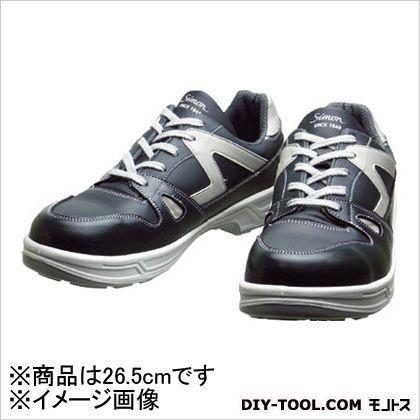 安全作業靴 短靴 8611 ダークグレー 26.5cm 8611DG26.5