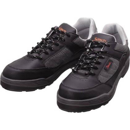 安全作業靴 短靴 8811 ブラック 26.5cm 8811BK26.5