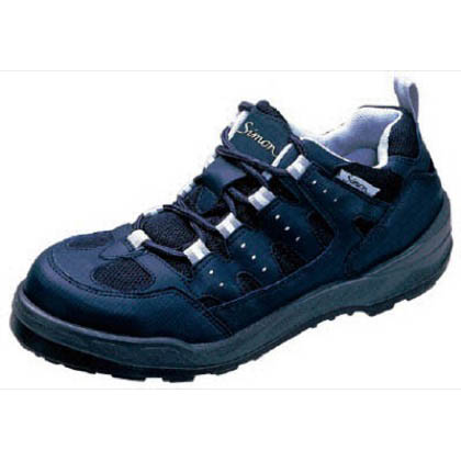 シモン 安全作業靴 短靴 8800 紺 27.0cm 8800BU27.0   樹脂先芯安全靴 安全靴
