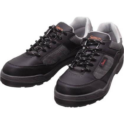 シモン 安全作業靴 短靴 8811 ブラック 27.5cm 8811BK27.5   樹脂先芯安全靴 安全靴