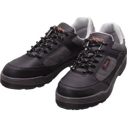 安全作業靴 短靴 8811 ブラック 27.0cm 8811BK27.0