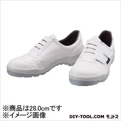 安全靴 エコエース 白 28.0cm ECO18W28.0