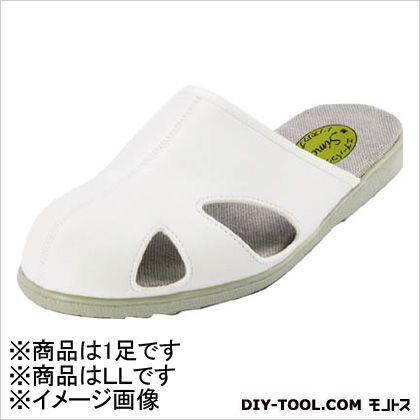 静電作業靴 スリッパタイプ LL (CA62LL)