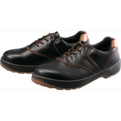 安全靴 短靴 SL11-B 黒/茶 26.0cm SL11B26.0 1 足