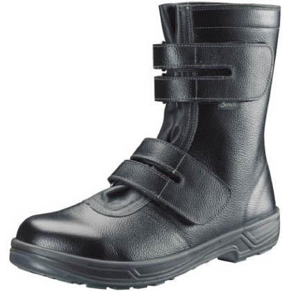 安全靴 長編上靴マジック式 SS38 黒 25.5cm SS3825.5 1 足