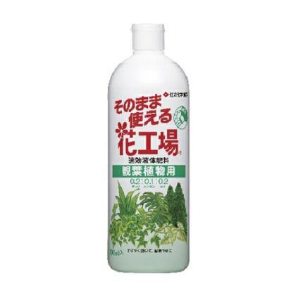 住友化学園芸 そのまま使える花工場 観葉植物用 700ml