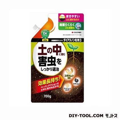 家庭園芸用サンケイダイアジノン粒剤3  700g