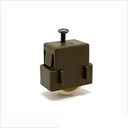 新日軽純正部品 雨戸戸車左右兼用雨戸  2×3.5cm 102-0-A8