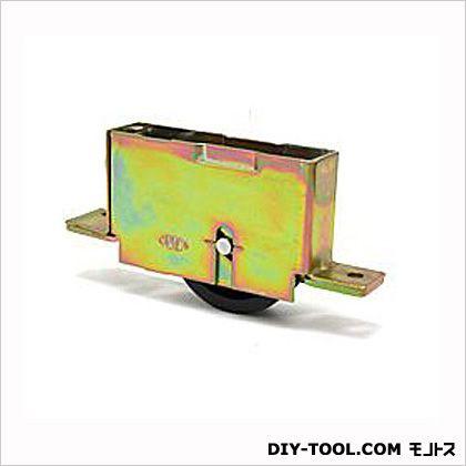 サッシ用戸車ナイロン樹脂製店舗・玄関用(三協サッシ玄関用他)戸車  1.8×10cm S-103-2