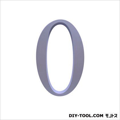 階数表示PH01No.0 サテンシルバー 1.3×15.3×9.6cm (214-450)