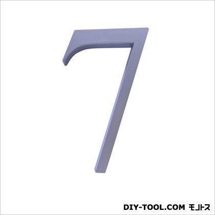 階数表示PH01No.7 サテンシルバー 1.3×15×9.3cm (214-457)