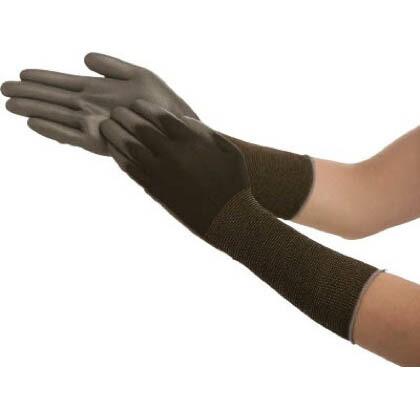ピッタリ背抜き袖口カバー 黒 Lサイズ (No262LBK) 1双