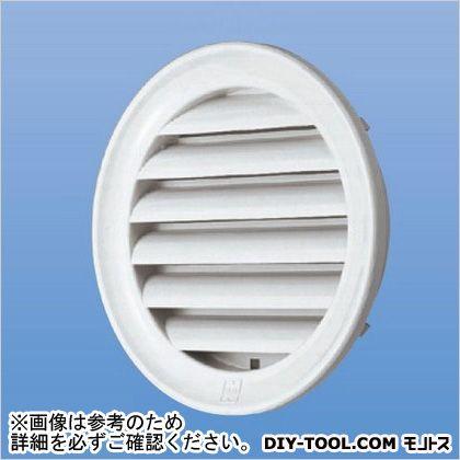 神栄ホームクリエイト 丸型ガラリ(プラスチック成型網付)   SGM-100P