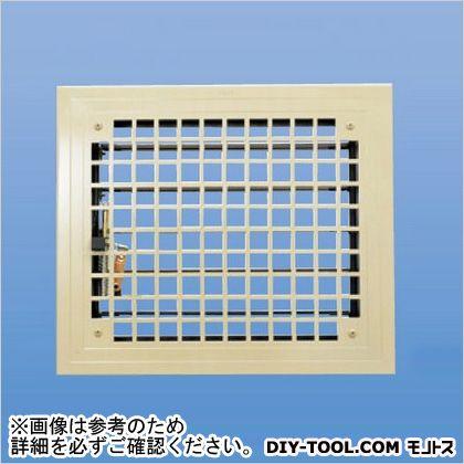 角型レジスター(開閉・上下レバー式防火ダンパー付)   SMR-1D-200x250