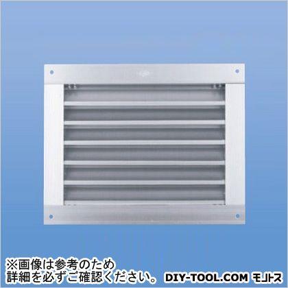 角型ガラリ(標準網なし・水切なし)   SAG-300x350(標準・水切なし)