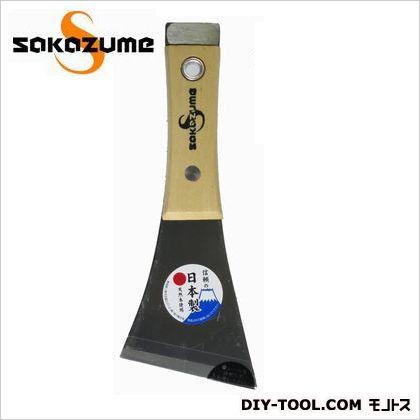 木柄 貫通皮スキ Y型斜  75mm