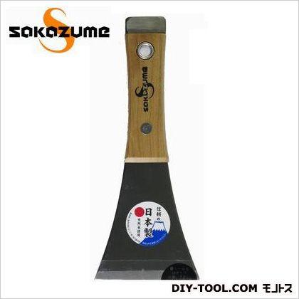 木柄 貫通皮スキ Y型平  75mm